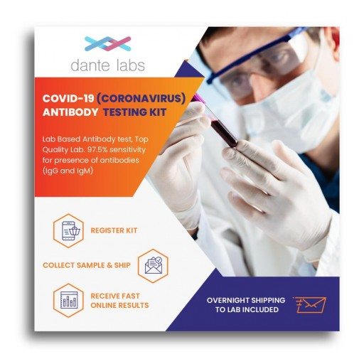 Dante Labs Launches Most-Affordable, Pan-European Coronavirus Tests for Current Infection (PCR Swab) and Antibodies