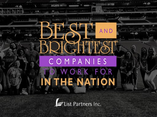 List Partners Claims Best and Brightest Companies to Work for Award for 7th Time