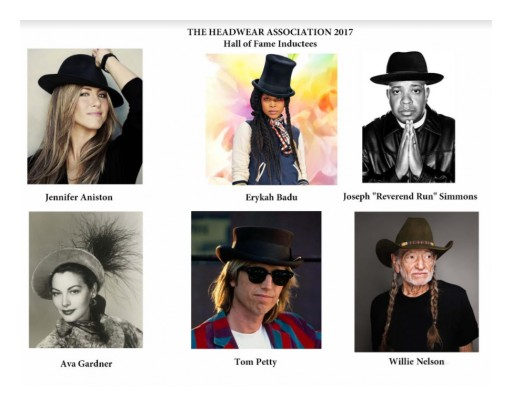The Headwear Association Announces 9th Annual Headwear Hall of Fame Inductees