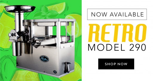 Bentonville Juicer Company Releases Improved, Industry-Standard Model