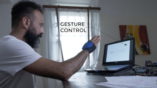 The Smallest Open Board for Gesture Recognition in Robotics, From Milan to Maker Fair New York 2017