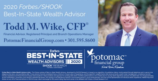 Potomac Financial Group's Todd Wike Named to Forbes' List of Top Wealth Advisors