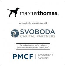 PMCF Advises Marcus Thomas in a Recapitalization Transaction with Svoboda Capital Partners