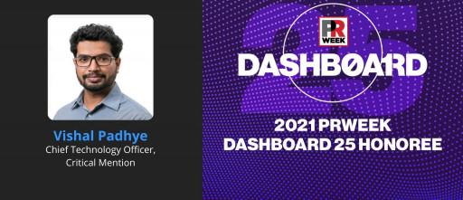 Vishal Padhye Named to PRWeek Dashboard Top 25 List for 2021