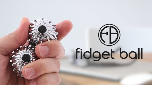 Product Design Startup, All Button Inc. Successfully Funds Its Second Kickstarter Project, Fidget Ball