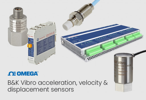 OMEGA Expands Sensor Offerings Through a Strategic Partnership With B&K Vibro
