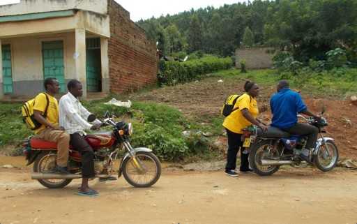 Help Arrives by Motorbike to Remote Kenya Villages