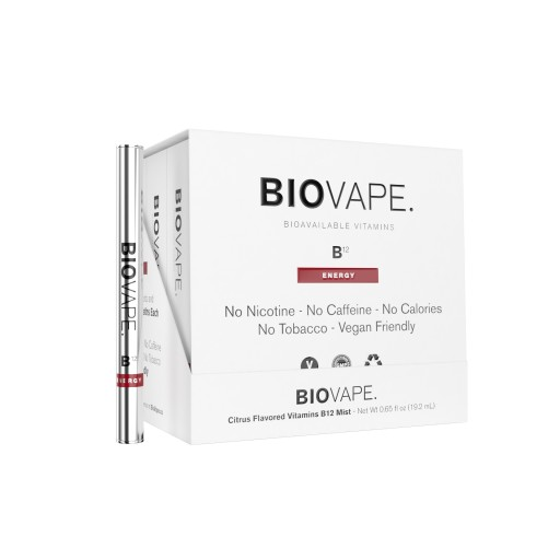 Inhale B12 With BioVape: The World's First Free-Form Delivery System Synthesizing Bioavailable Vitamins in the Form of Aromatherapy Launches Q1 2018