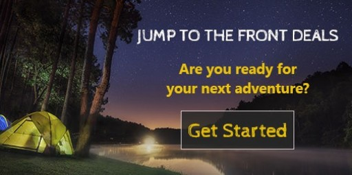 Jump to the Front Deals Gives Users Access to Deals on Gear for Golf, Kayaking, Camping and More