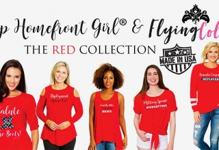Homefront Girl & Flying Colors Apparel The RED Collection