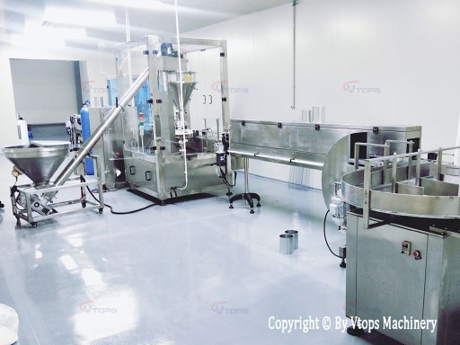 Vtops Successfully Delivered the Milk Powder Filling Canning Line in Vietnam