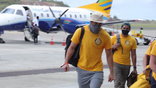 Freewinds and Scientology Volunteer Ministers Respond to Volcanic Eruption in St. Vincent and the Grenadines