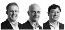David Sinclair - Managing Principal Toronto Office (Left), John Ferguson - Design Principal (Center), and Dario Di Carlo - Chief Strategy Officer (Right)