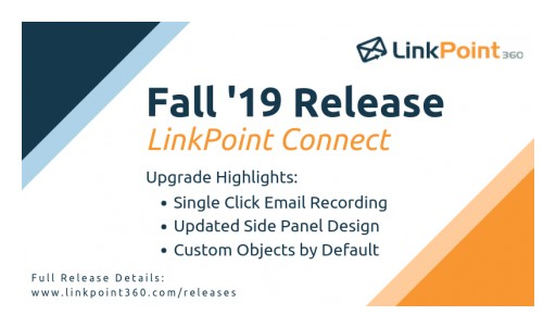 LinkPoint360 Redesigns Flagship Email Integration Application in Latest Release