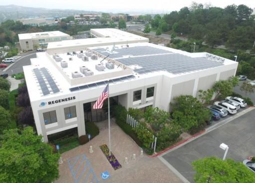 Environmental Company Regenesis Walks the Talk by Converting to Sullivan Solar Power