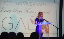 Executive Director, The Foundation for a Drug-Free World, the Americas Chapter Meghan Fialkoff at the group's 10th Annual Gala