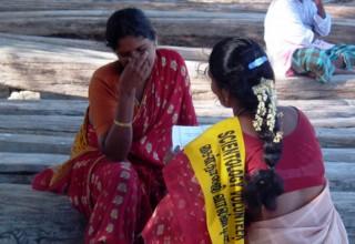 Volunteer Minister help survivors cope