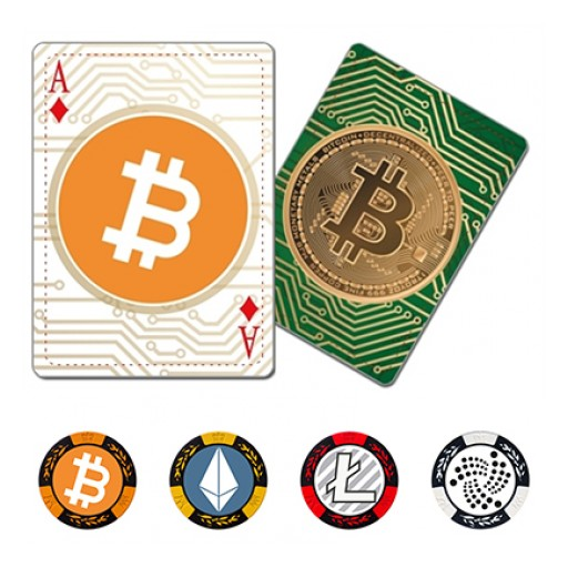 Cryptocurrency Playing Cards and Poker Chips Just Launched on Indiegogo