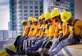 The Sullivan Solar Power team has begun construction at Petco Park