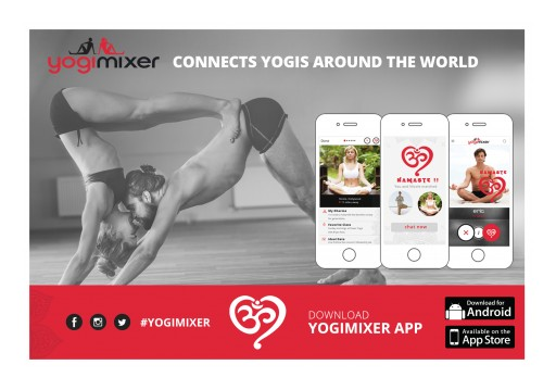 New App Helps the Yoga Crowd Find Romance Just a Stone's Throw Away