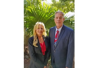 ​Brian Duffner and Jayne Carruthers with South Florida Mobile Home Sales