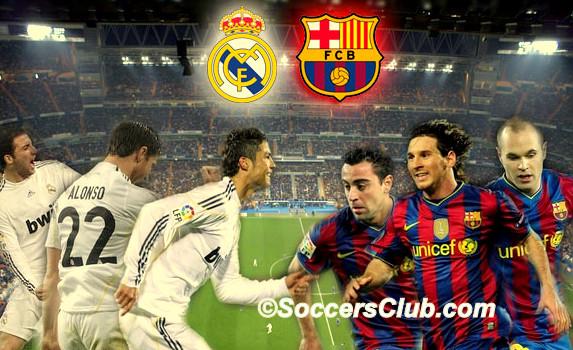 Real Madrid Live Stream Vs Barcelona