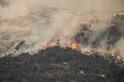 Natural Disasters Such as Fire Storms and Their Less Obvious Effects on Daily Life