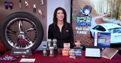 Lauren Fix Shared Fall Car Care on Tips on TV Blog