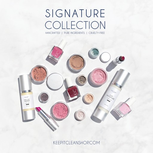 Keep It Clean Naturals Makes Jump Into Cosmetics Industry With Launch of Signature Collection