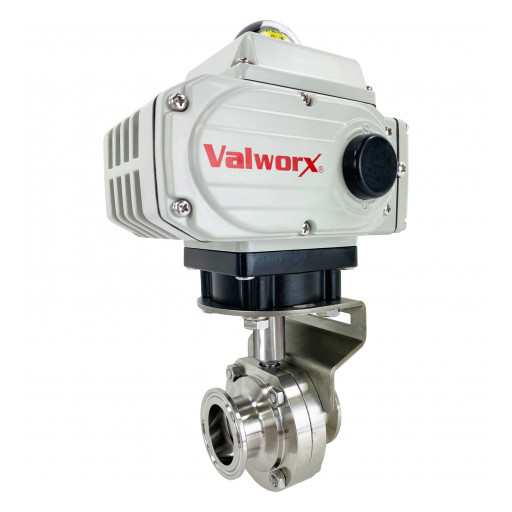 Valworx Introduces New Product Line: Sanitary Butterfly Valve