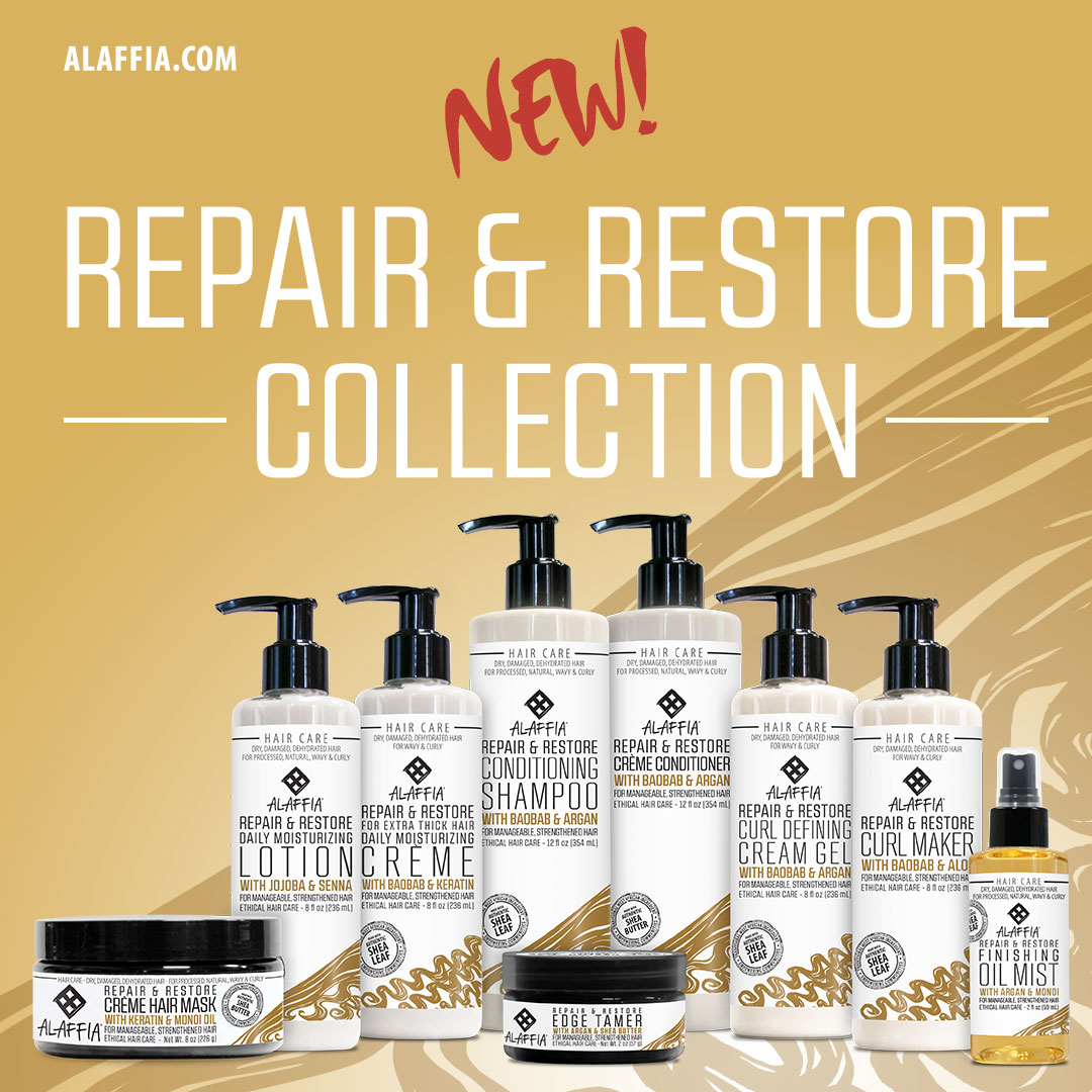 Alaffia introduces the repair restore collection for for The collection com