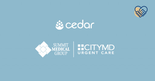 Cedar Partners With Summit CityMD to Offer a New, Patient-Forward Financial Experience
