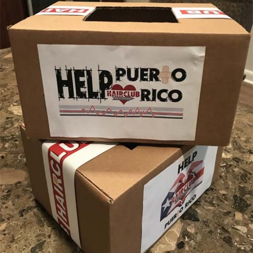 Hair Club® Employees Volunteer for the Child Rescue Coalition and to Help Hurricane Victims in Puerto Rico