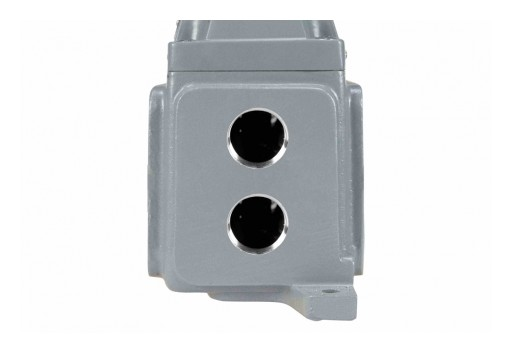 "Larson Electronics Releases Explosion Proof Outlet, (2) 1"" NPT Hubs, 20-Amp Rated"
