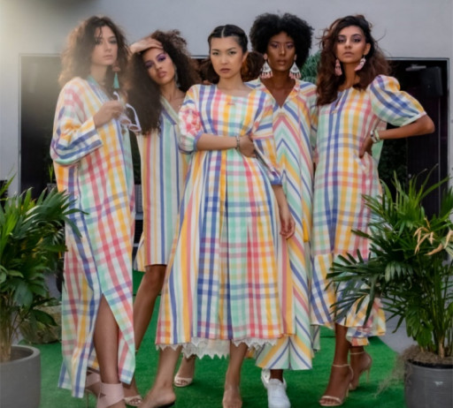 NYFW SS 2022: Shop Local Designers 'Summer in Style Fashion Show' Featuring Sonali Raman - Selina Rooftop Chelsea