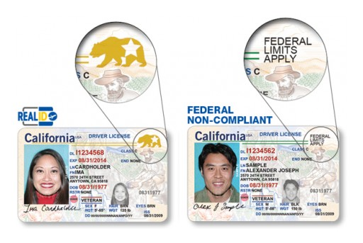 CRPA Information Bulletin: Real IDs, Non-Real IDs, and AB 60 Type Licenses for Purchasing a Firearm