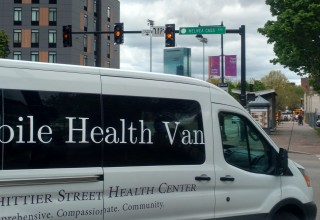 Whittier Street Health Center mobile van provides HIV testing and outreach to Boston's homeless and addicted