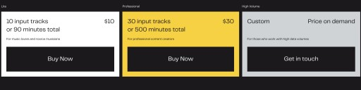 AI-Powered Audio Splitter Lalal.ai Introduces Paid Packages
