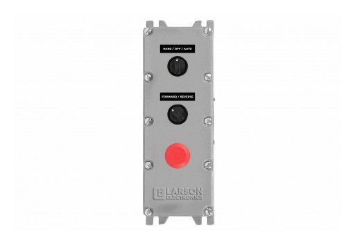Larson Electronics Releases Explosion Proof Control Station, (1) 3-Position HOA Switch, CID1