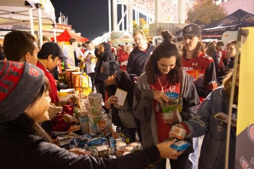 Korean Food Event at Utah Football Game