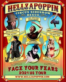 Hellzapoppin Tour Poster