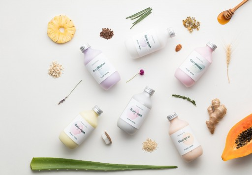 Pure & Mine Uses Unique Algorithm to Launch Personalized Shampoo, Conditioner and Body Wash