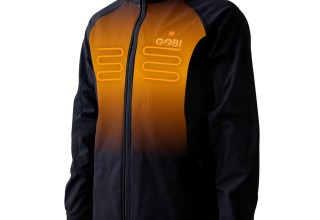 Gobi Heat Sahara Mens 3-Zone Heated Jacket - Front