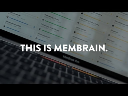 This is Membrain - The Sales Enablement CRM