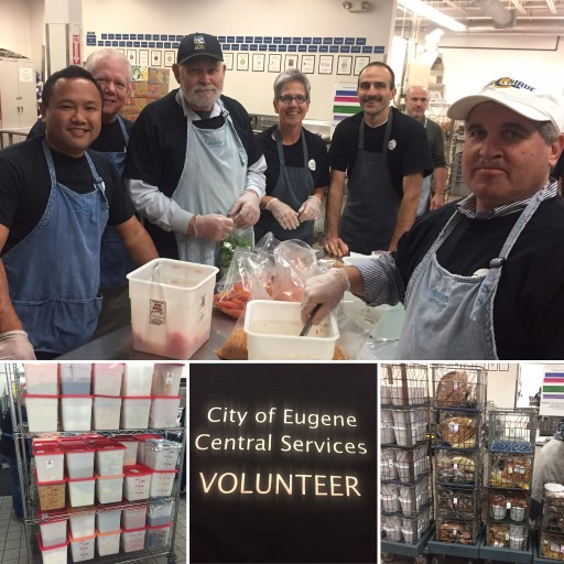 Highstreet Volunteers at FOOD for Lane County Food Bank in Oregon