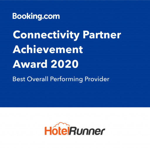 HotelRunner Selected as 'Best Overall Performing Provider' by Booking.com