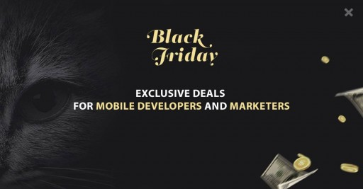 Fifty Exclusive Deals Await Mobile Marketers, App Developers and Website Owners in the Biggest Sale of the Year