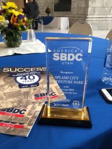 Splash City Adventure Park SBDC Award 2019
