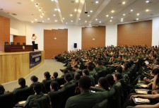Youth for Human Rights Colombia training police cadets