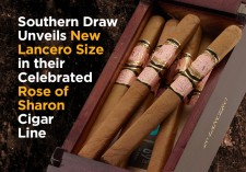 Southern Draw Rose of Sharon Lancero Cigars